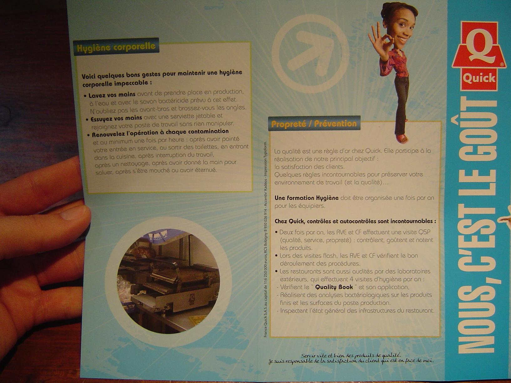 règles hygiène corporelle
